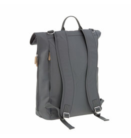 Lassig Lassig Rolltop Backpack Anthracite