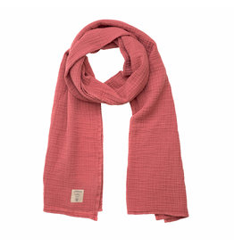 Lassig Lassig Muslin nursing scarf  Rosewood