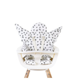 Childhome Childhome Stoelkussen Engel leopard jersey
