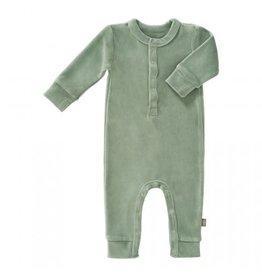 Fresk Fresk pyjama velours Forest Green