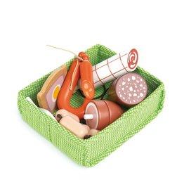Tender leaf toys Tender Leaf Toys Mandje met Vlees