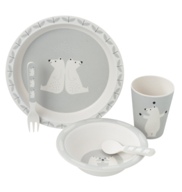 Fresk Fresk Dinner Set Polar bear