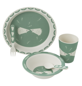 Fresk Fresk Dinner Set Hedgehog