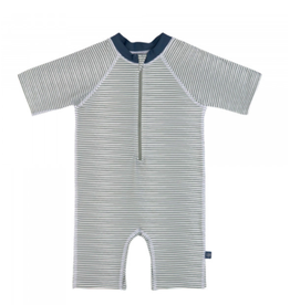 Lassig Lässig Short Sleeve Sunsuit Striped blue