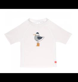 Lassig Lässig Short Sleeve Rashguard Mr. Seagull white
