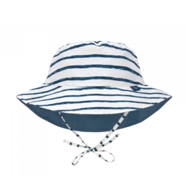 Lassig Lässig Sun Protection Bucket Hat Striped navy