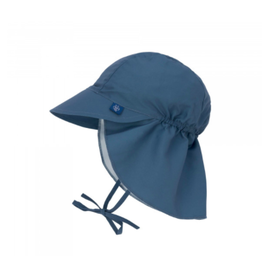 Lassig Lässig Sun Protection Flap Hat Navy