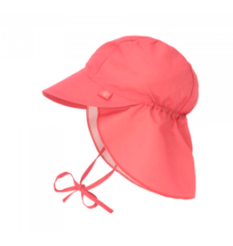 Lassig Lässig Sun Protection Flap Hat Coral
