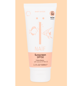 Naïf Naif Sunscreen Baby&Kids SPF50 new