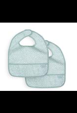 Jollein Jollein Slab waterproof Snake soft green (2pack)