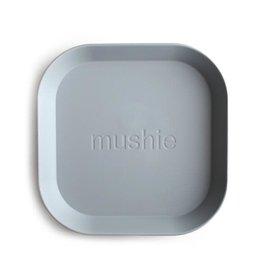 Mushie Mushie Plate Square Cloud set