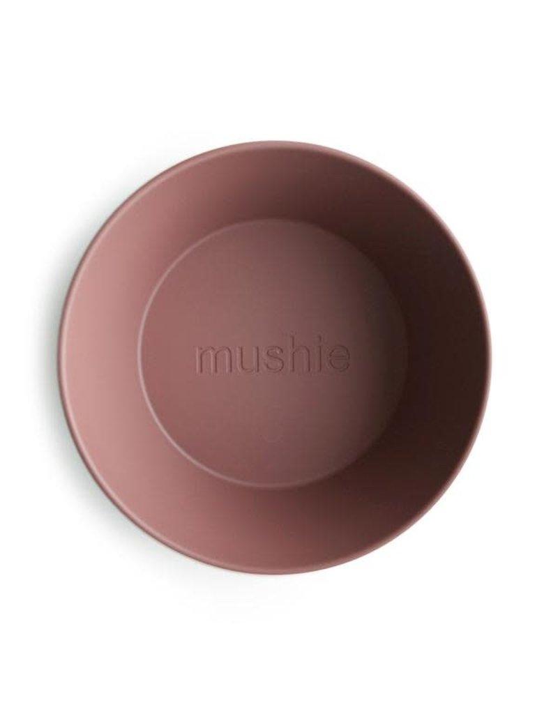 Mushie Mushie Bowl Round Woodchuck set