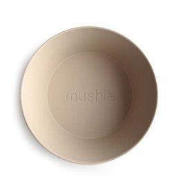 Mushie Mushie Bowl Round Vanilla set