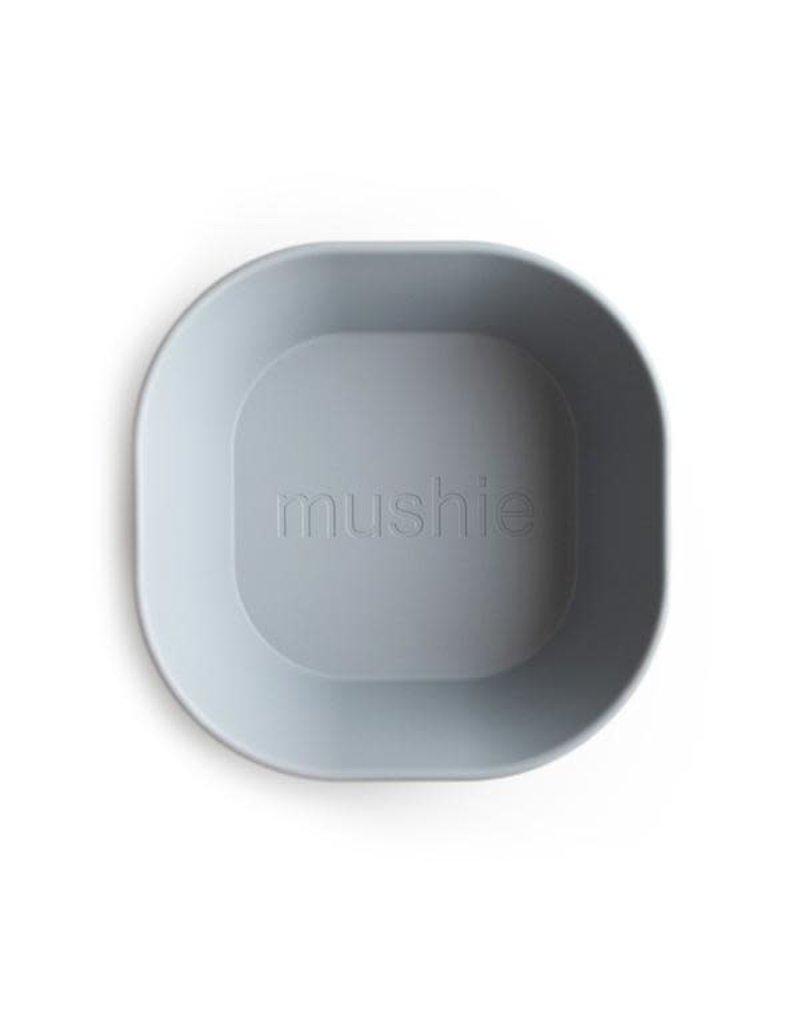 Mushie Mushie Bowl Square Cloud set