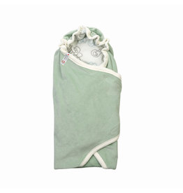 Lodger Lodger wrapper silt green onesize