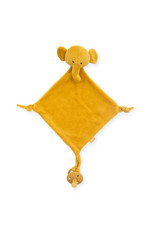 Jollein Jollein knuffeldoekje Elephant mustard