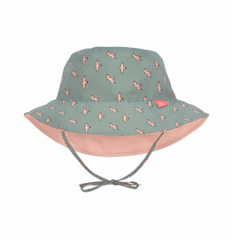 Lassig Lässig Sun Protection Bucket Hat Seagull Green