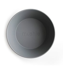 Mushie Mushie Bowl Round Smoke set