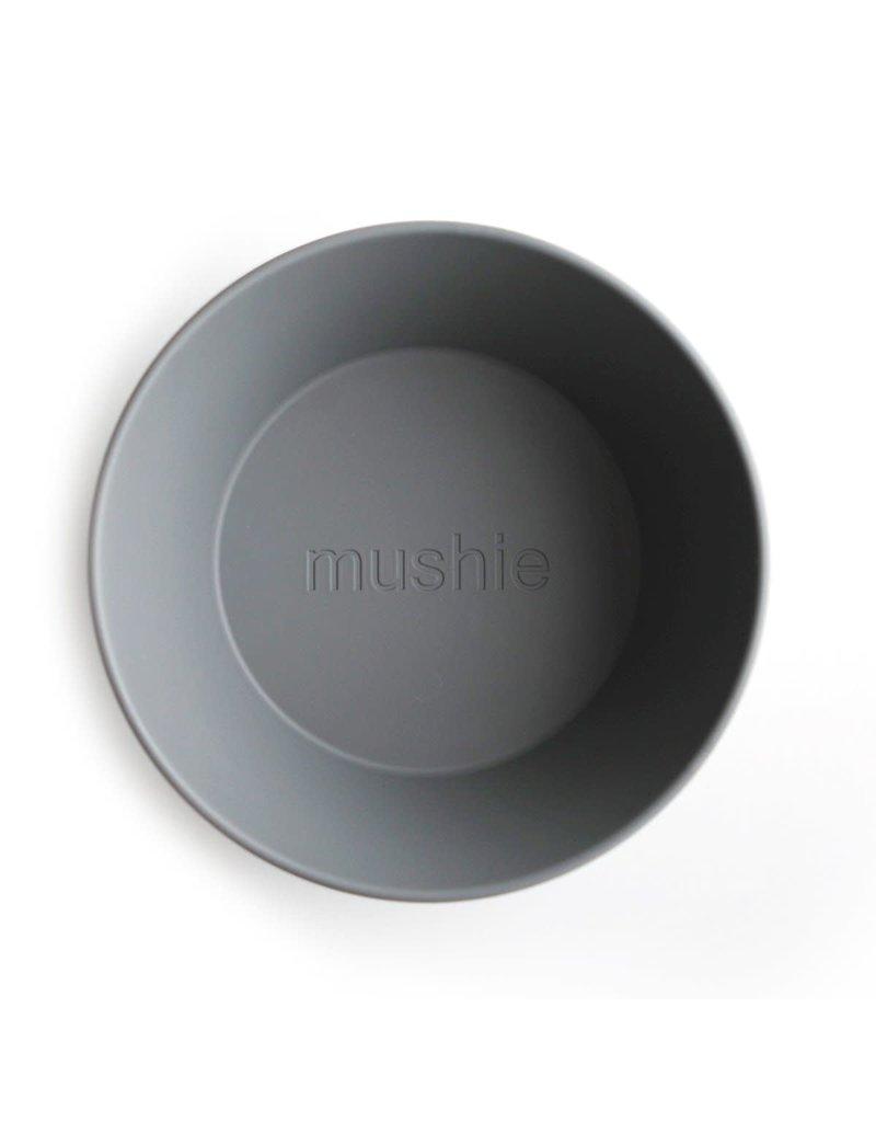 Mushie Mushie Bowl Round Smoke set