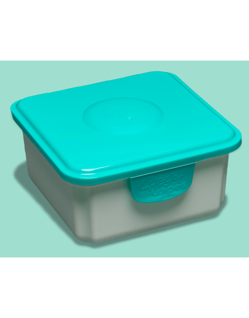 Cheeky Wipes Cheeky Wipes fresh baby wipes container blue