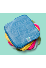 Cheeky Wipes Cheeky Wipes washable cloth bamboo velour baby wipes rainbow coloured