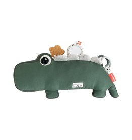 Done by Deer Done by Deer Tummy time activity toy Croco Green