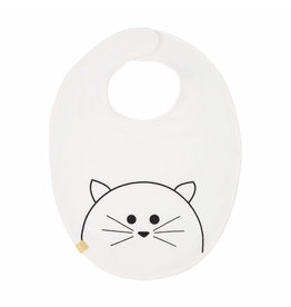 Lassig Lassig baby bib medium little Chums Cat