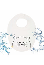 Lassig Lassig baby bib medium little Chums Cat