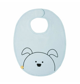 Lassig Lassig baby bib medium Little Chums Dog