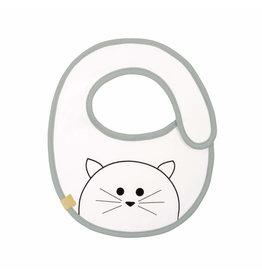 Lassig Lassig small bib Little Chums Cat