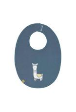 Lassig Lassig bib medium glama lama blue