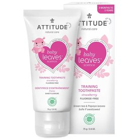 Attitude Attitude Little Ones Tandpasta Strawberry