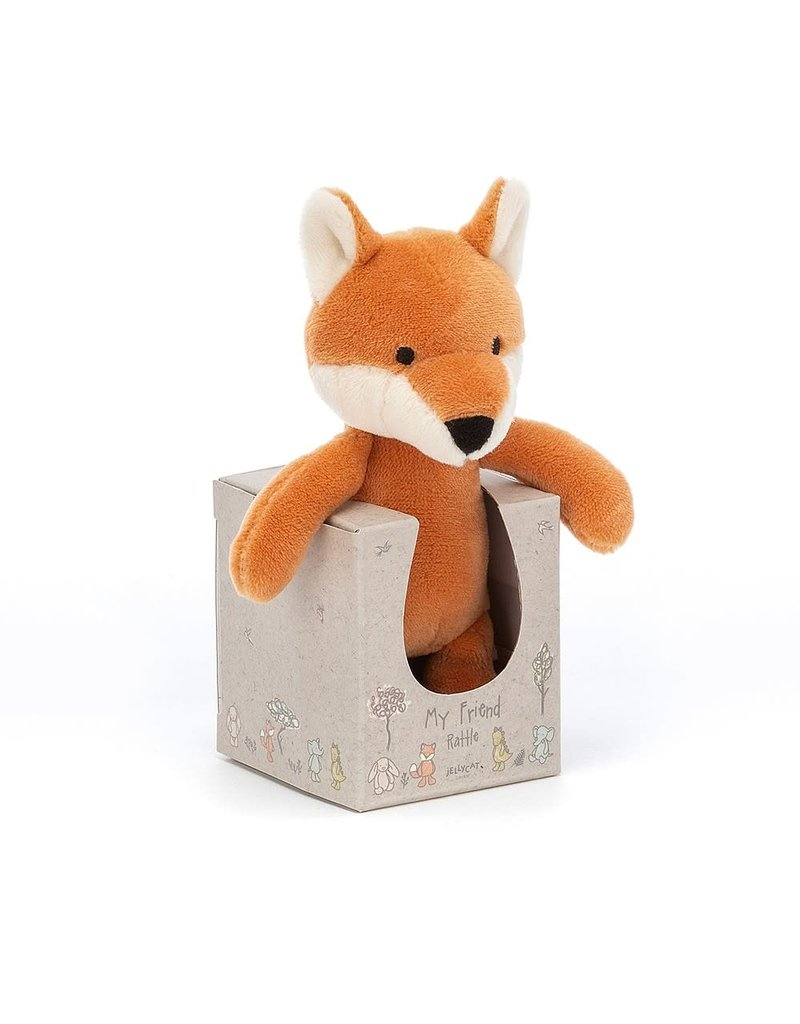Jellycat Jellycat My Friend Fox Rattle