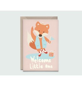 Kathings Kathings kaartje Fox little one