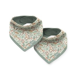 Jollein Jollein Slab Bandana Bloom 2pack