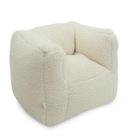Jollein Jollein Fauteuiltje Beanbag Teddy cream white