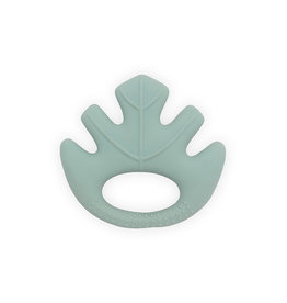 Jollein Jollein bijtring rubber Leaves ash green