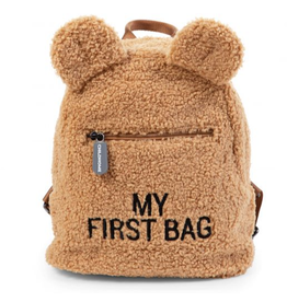 Childhome Childhome My First Bag Kinderrugzak Teddy Beige