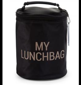 Childhome Childhome - My Lunchbag Met Isolerende Voering Zwart Goud
