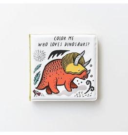 Wee Gallery Wee Gallery Bath Book Dino