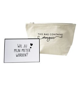 "Minimou Minimou Make-uptas ""There is magic inside"" Wil jij mijn meter worden?"