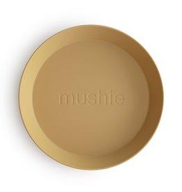 Mushie Mushie Plate Round Mosterd set