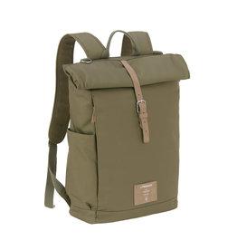 Lassig Lassig Rolltop Backpack Olive