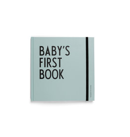 Design Letters Design Letters Baby's First Book Green