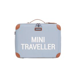 Childhome Childhome Mini Traveller Kinderkoffer Grijs Ecru