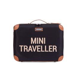 Childhome Childhome Mini Traveller Kinderkoffer Zwart Goud