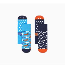 Happy Socks Happy Socks 2-pack anti-slip Dog