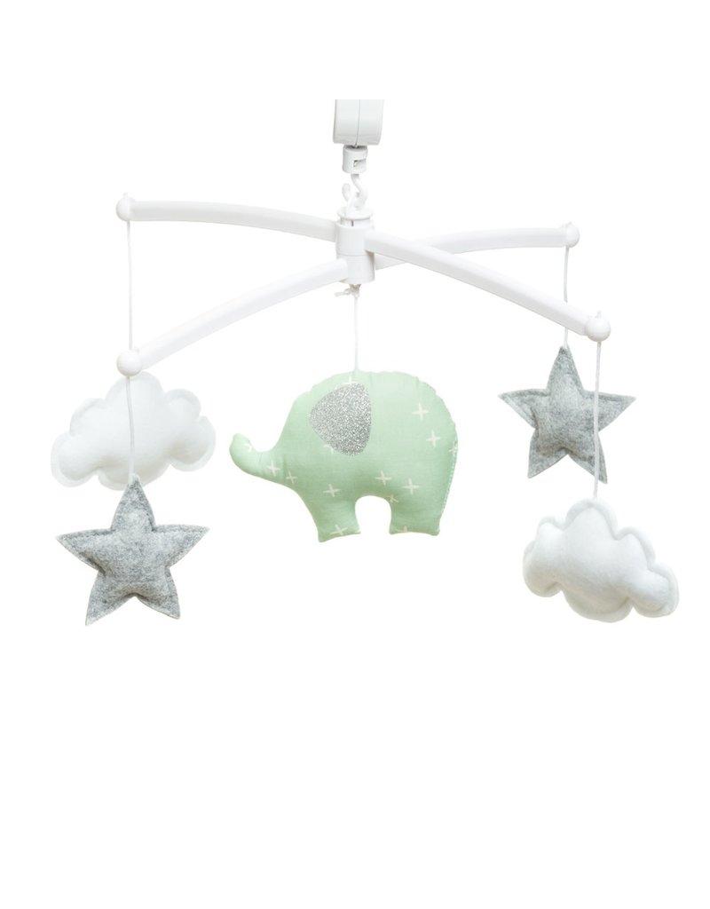 Pouce et Lina mobiel green elephant