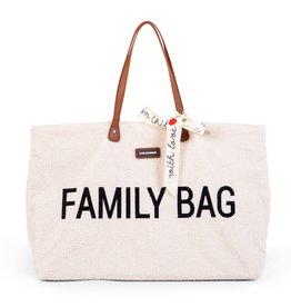 Childhome Childhome Family Bag Teddy Ecru
