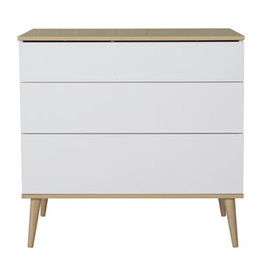 Quax Quax - Flow Commode - White & Oak